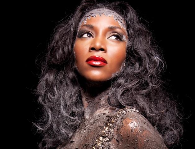 Dark skin - Genevieve Nnaji