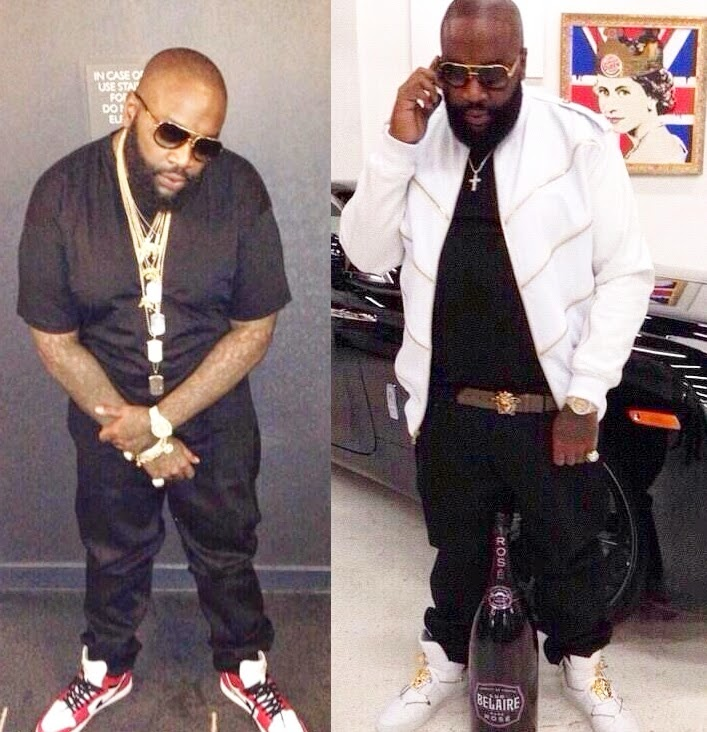 rick ross weight loss is unbelievable see photos of the rapper s