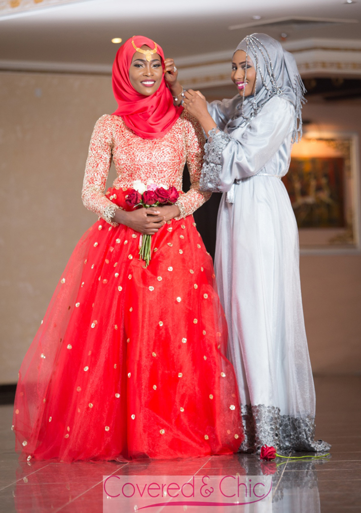 Covered Chic Muslimah Bridal Wedding Dresses December 2017