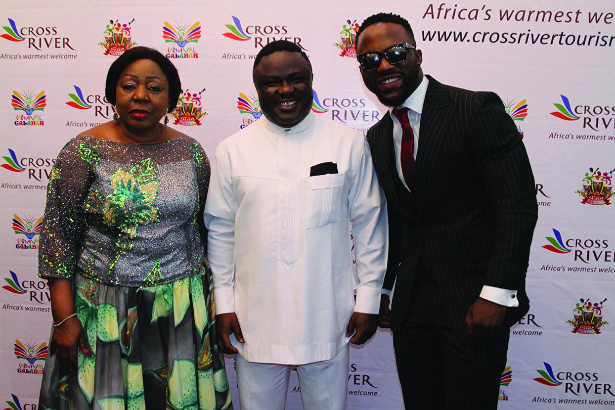 Florence Ita-Giwa,Professor Ben Ayade and Iyanya