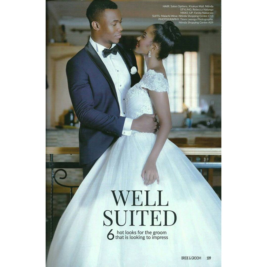John Iwueke Graces The Front Cover Of Bride & Groom Magazine ...
