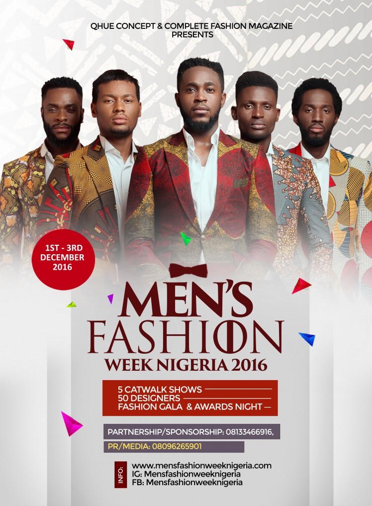 Men S Fashion Week Nigeria Press Briefing Glamsquad Magazine