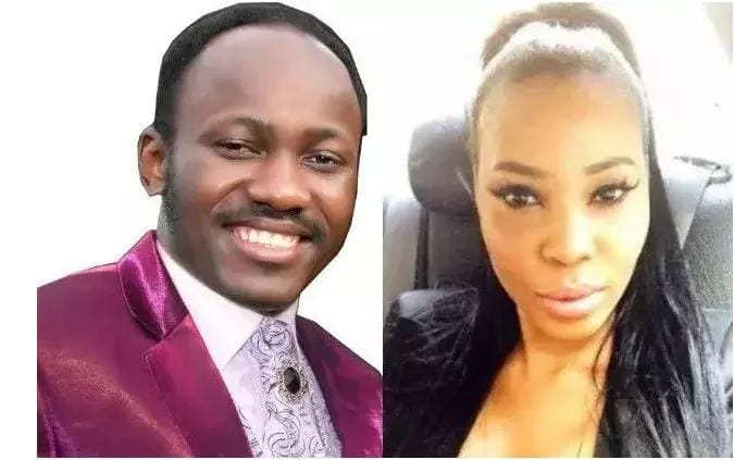 Image result for stephanie otobo and apostle suleman