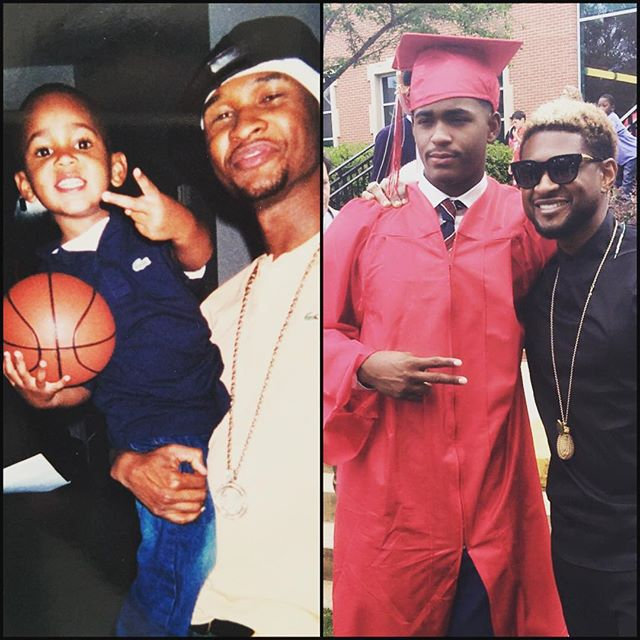 Exclusive: Usher's Son Ryan Glover Graduates From High ...