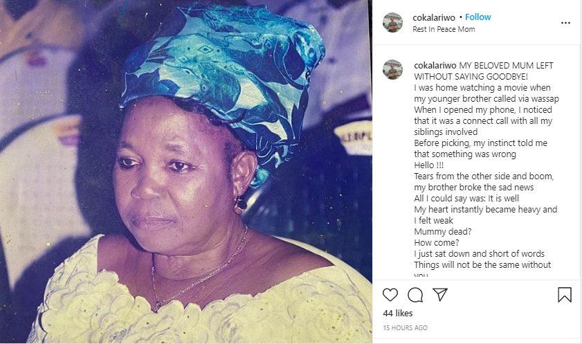 Nigerian Singer, Alariwo Loses Mum – GLAMSQUAD MAGAZINE